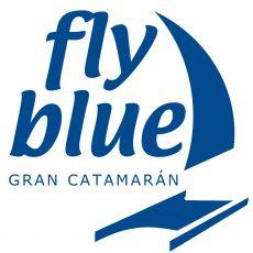 fly blue puerto malaga gran catamaran